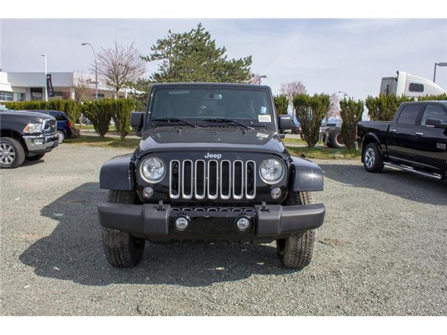 2018 Jeep Wrangler JK Unlimited Sahara (Stk: J863957) in Abbotsford - Image 2 of 20