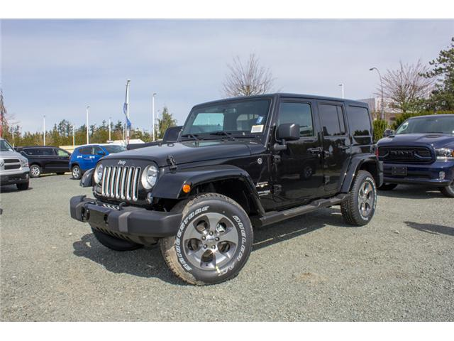 2018 Jeep Wrangler JK Unlimited Sahara (Stk: J863957) in Abbotsford - Image 3 of 20