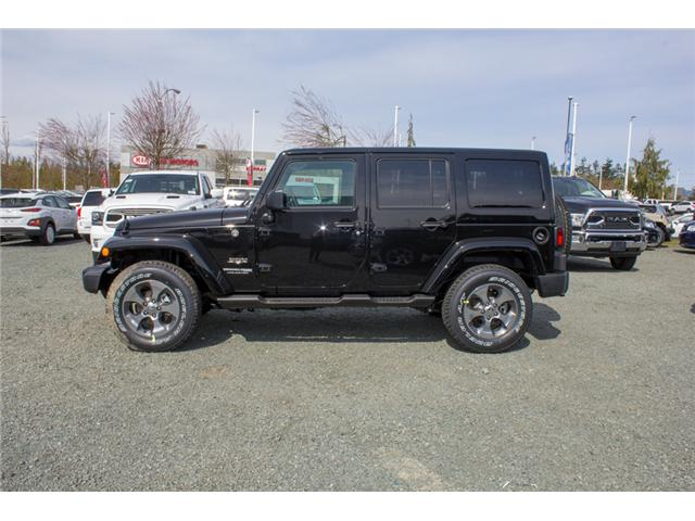 2018 Jeep Wrangler JK Unlimited Sahara (Stk: J863957) in Abbotsford - Image 4 of 20