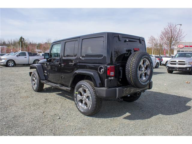 2018 Jeep Wrangler JK Unlimited Sahara (Stk: J863957) in Abbotsford - Image 5 of 20