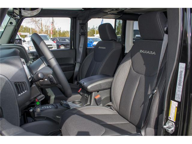 2018 Jeep Wrangler JK Unlimited Sahara (Stk: J863957) in Abbotsford - Image 9 of 20