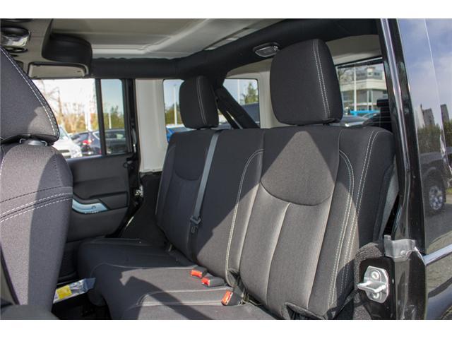 2018 Jeep Wrangler JK Unlimited Sahara (Stk: J863957) in Abbotsford - Image 10 of 20