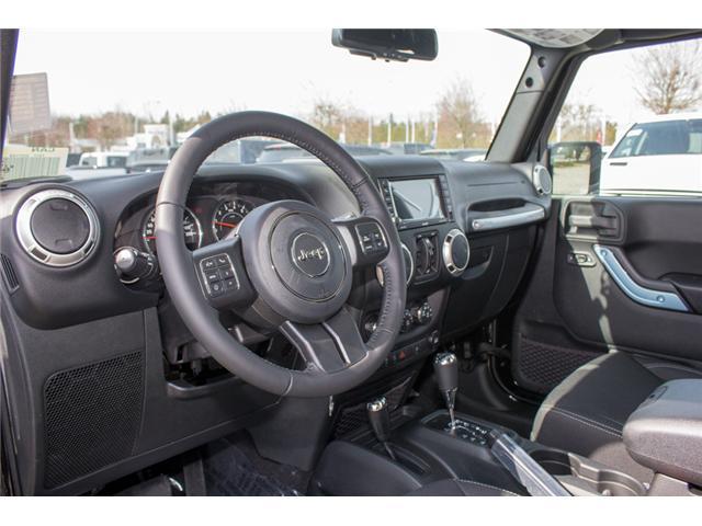 2018 Jeep Wrangler JK Unlimited Sahara (Stk: J863957) in Abbotsford - Image 13 of 20