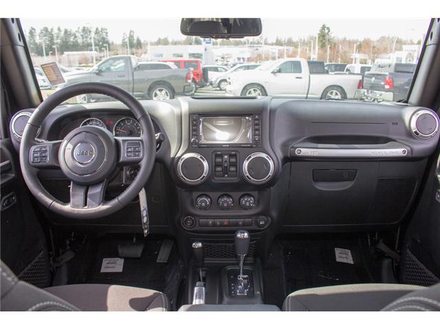 2018 Jeep Wrangler JK Unlimited Sahara (Stk: J863957) in Abbotsford - Image 14 of 20