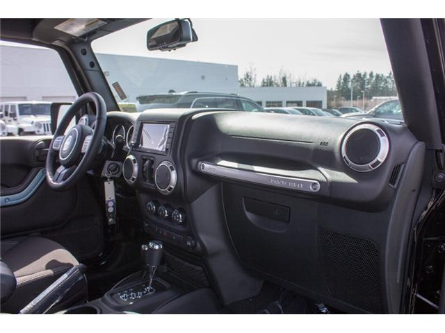 2018 Jeep Wrangler JK Unlimited Sahara (Stk: J863957) in Abbotsford - Image 15 of 20