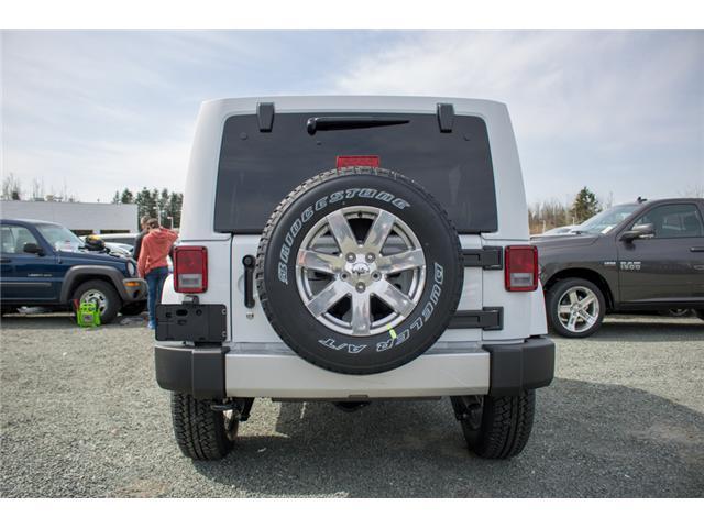 2018 Jeep Wrangler JK Unlimited Sahara (Stk: J863958) in Abbotsford - Image 6 of 23