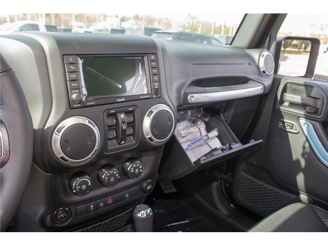 2018 Jeep Wrangler JK Unlimited Sahara (Stk: J863957) in Abbotsford - Image 16 of 20