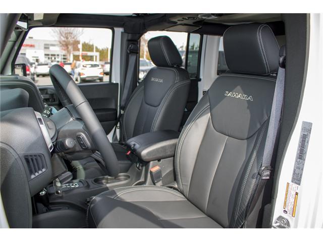2018 Jeep Wrangler JK Unlimited Sahara (Stk: J863958) in Abbotsford - Image 14 of 23
