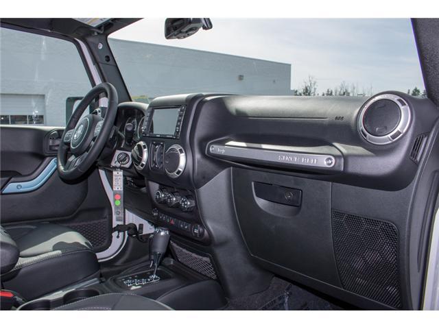 2018 Jeep Wrangler JK Unlimited Sahara (Stk: J863958) in Abbotsford - Image 17 of 23