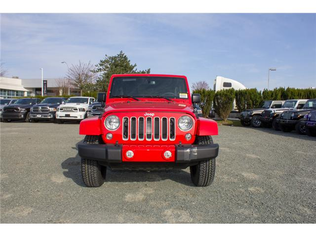 2018 Jeep Wrangler JK Unlimited Sahara (Stk: J863962) in Abbotsford - Image 2 of 21