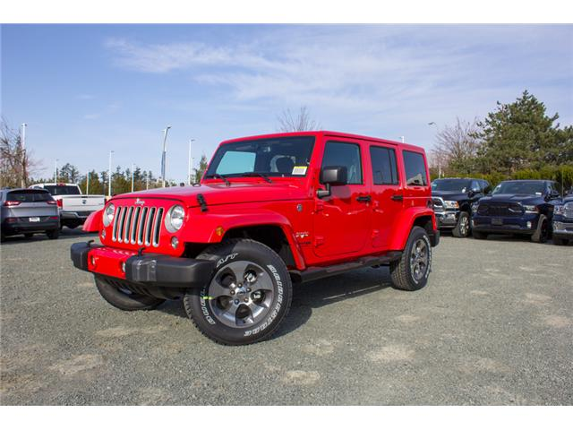 2018 Jeep Wrangler JK Unlimited Sahara (Stk: J863962) in Abbotsford - Image 3 of 21