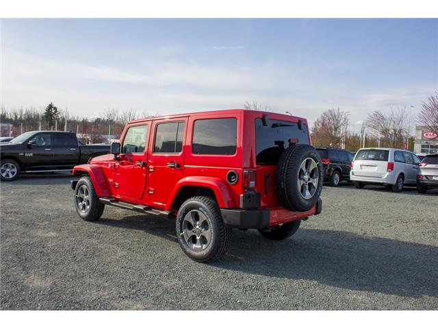 2018 Jeep Wrangler JK Unlimited Sahara (Stk: J863962) in Abbotsford - Image 5 of 21