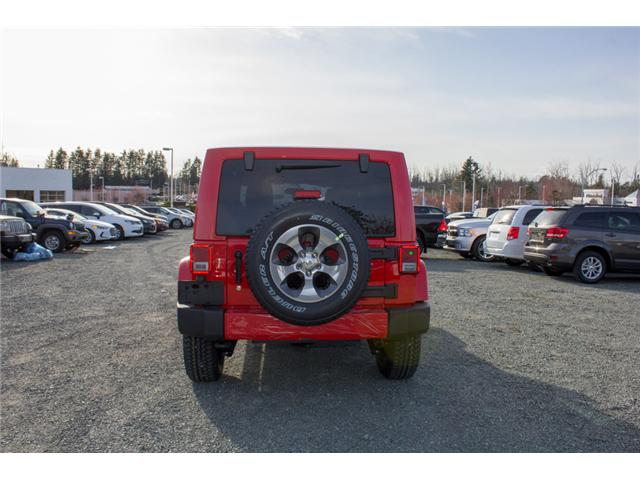2018 Jeep Wrangler JK Unlimited Sahara (Stk: J863962) in Abbotsford - Image 6 of 21