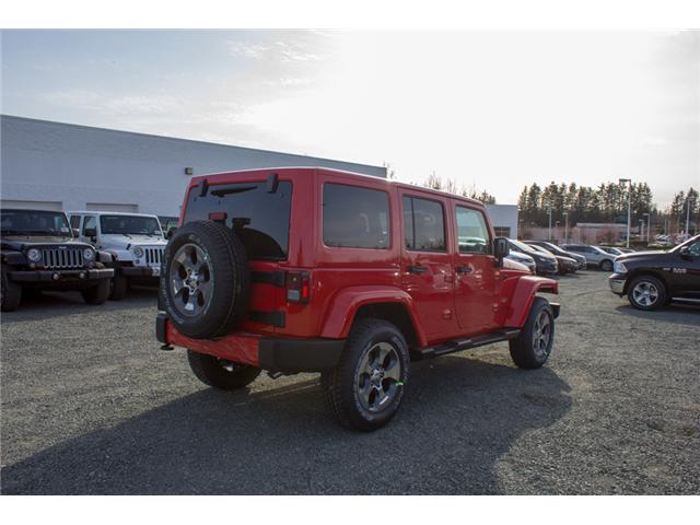 2018 Jeep Wrangler JK Unlimited Sahara (Stk: J863962) in Abbotsford - Image 7 of 21