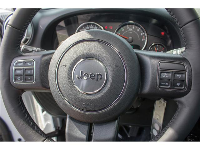 2018 Jeep Wrangler JK Unlimited Sahara (Stk: J863960) in Abbotsford - Image 21 of 28