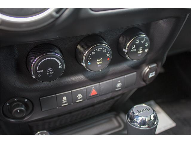2018 Jeep Wrangler JK Unlimited Sahara (Stk: J863960) in Abbotsford - Image 24 of 28