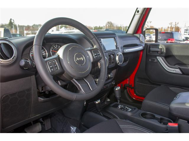 2018 Jeep Wrangler JK Unlimited Sahara (Stk: J863962) in Abbotsford - Image 13 of 21