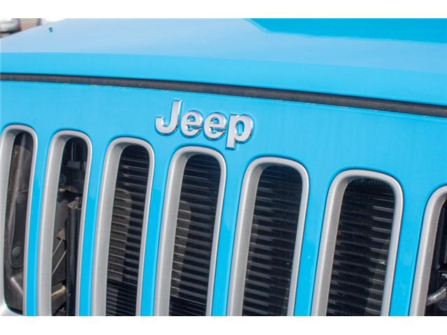2018 Jeep Wrangler JK Unlimited Sahara (Stk: J863963) in Abbotsford - Image 9 of 25