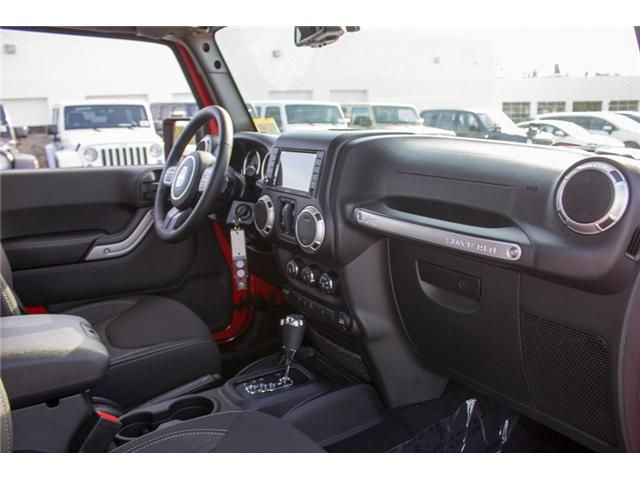 2018 Jeep Wrangler JK Unlimited Sahara (Stk: J863962) in Abbotsford - Image 15 of 21