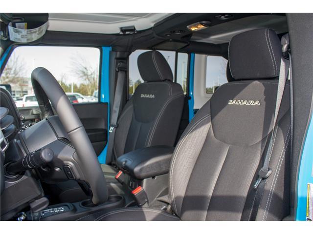 2018 Jeep Wrangler JK Unlimited Sahara (Stk: J863963) in Abbotsford - Image 11 of 25