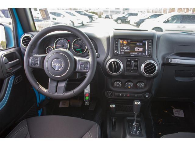 2018 Jeep Wrangler JK Unlimited Sahara (Stk: J863963) in Abbotsford - Image 16 of 25