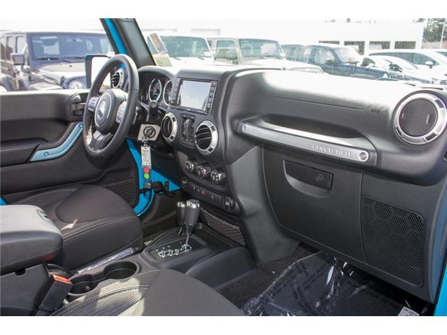 2018 Jeep Wrangler JK Unlimited Sahara (Stk: J863963) in Abbotsford - Image 17 of 25