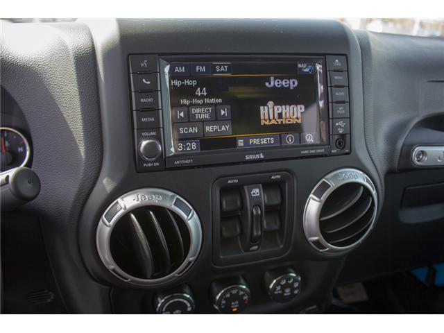 2018 Jeep Wrangler JK Unlimited Sahara (Stk: J863963) in Abbotsford - Image 22 of 25