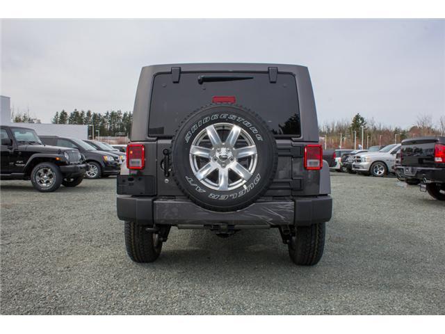 2018 Jeep Wrangler JK Unlimited Sahara (Stk: J863966) in Abbotsford - Image 6 of 23
