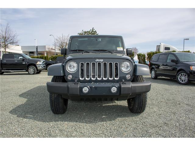 2018 Jeep Wrangler JK Unlimited Sahara (Stk: J863968) in Abbotsford - Image 2 of 22