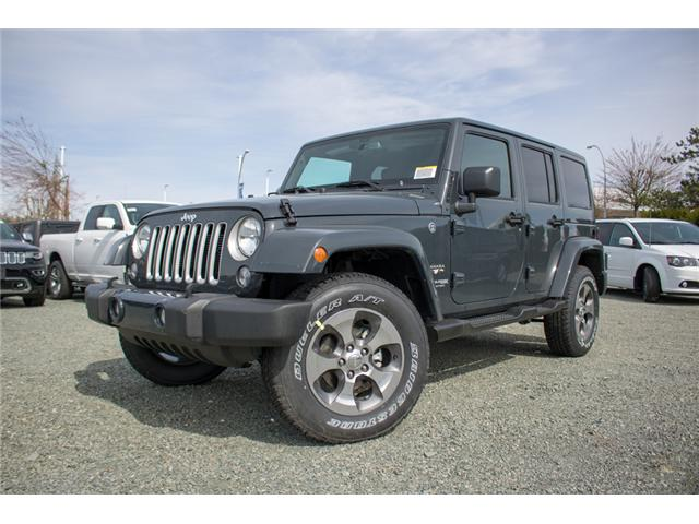 2018 Jeep Wrangler JK Unlimited Sahara (Stk: J863968) in Abbotsford - Image 3 of 22
