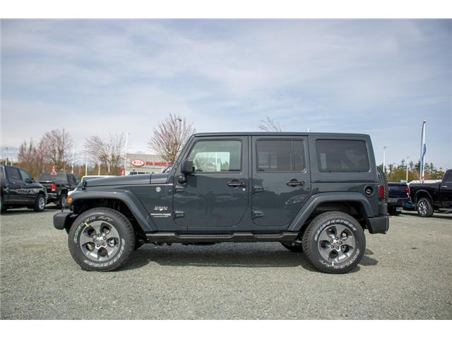 2018 Jeep Wrangler JK Unlimited Sahara (Stk: J863968) in Abbotsford - Image 4 of 22