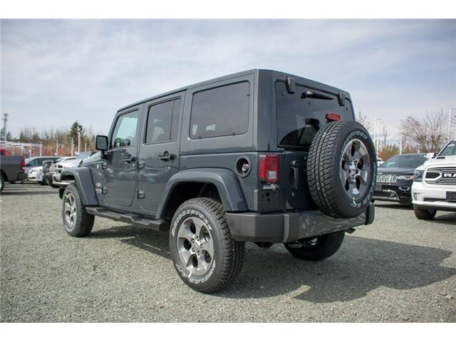 2018 Jeep Wrangler JK Unlimited Sahara (Stk: J863968) in Abbotsford - Image 5 of 22