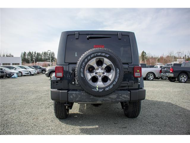 2018 Jeep Wrangler JK Unlimited Sahara (Stk: J863968) in Abbotsford - Image 6 of 22