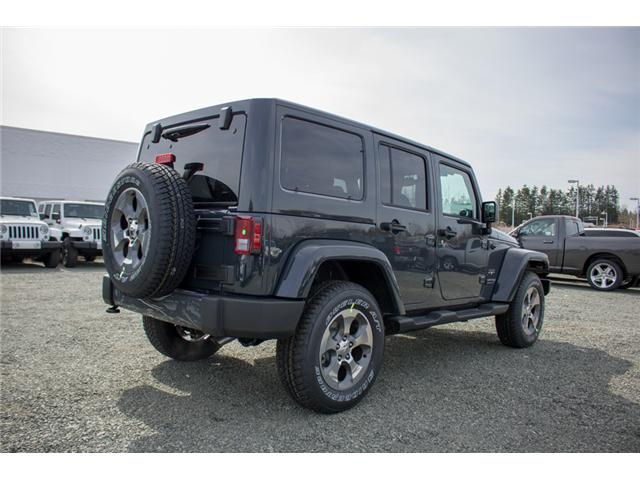 2018 Jeep Wrangler JK Unlimited Sahara (Stk: J863968) in Abbotsford - Image 7 of 22
