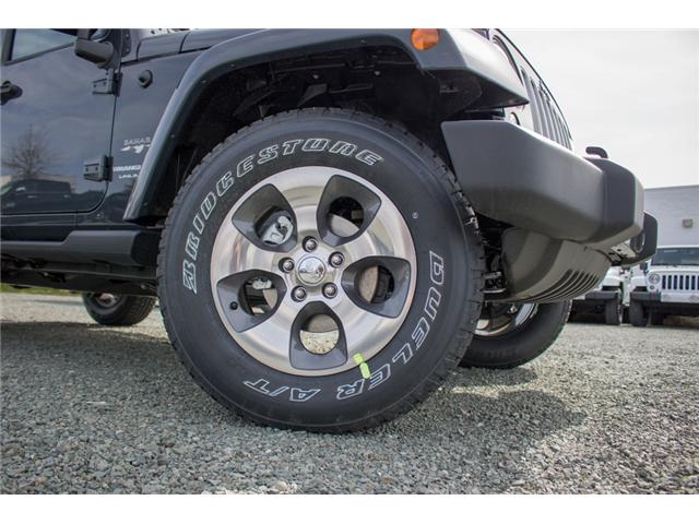 2018 Jeep Wrangler JK Unlimited Sahara (Stk: J863968) in Abbotsford - Image 9 of 22