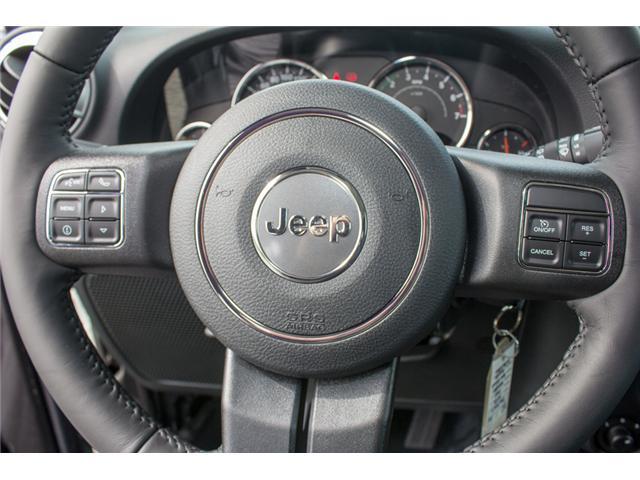 2018 Jeep Wrangler JK Unlimited Sahara (Stk: J863966) in Abbotsford - Image 18 of 23