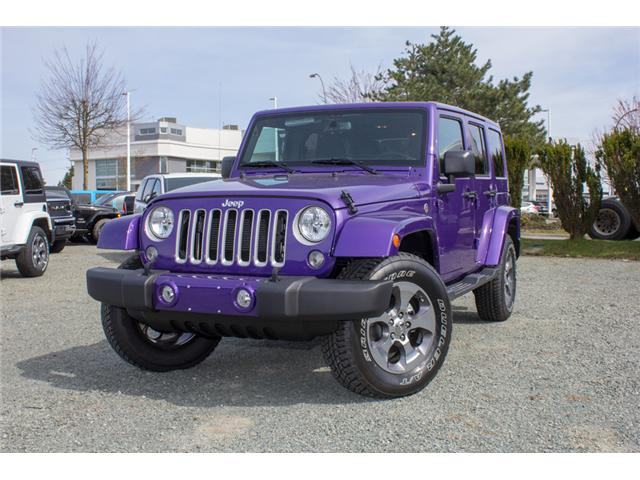 2018 Jeep Wrangler JK Unlimited Sahara (Stk: J863969) in Abbotsford - Image 3 of 25
