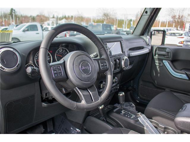 2018 Jeep Wrangler JK Unlimited Sahara (Stk: J863968) in Abbotsford - Image 14 of 22