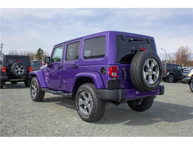 2018 Jeep Wrangler JK Unlimited Sahara (Stk: J863969) in Abbotsford - Image 5 of 25