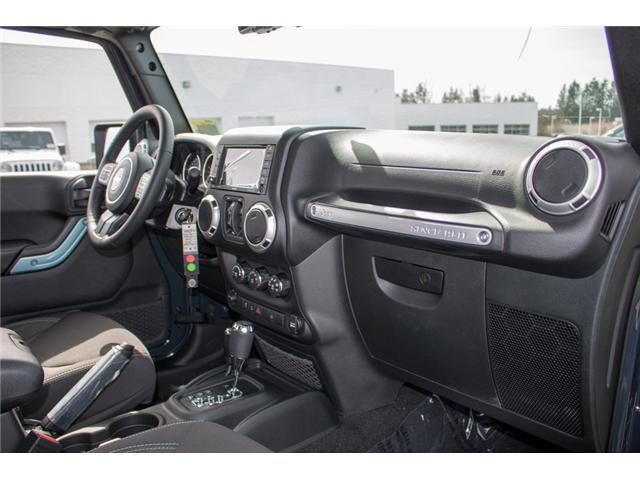 2018 Jeep Wrangler JK Unlimited Sahara (Stk: J863968) in Abbotsford - Image 16 of 22