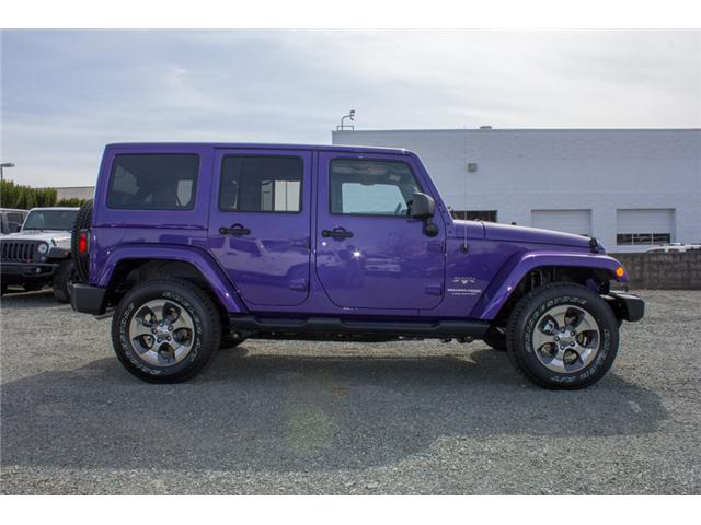 2018 Jeep Wrangler JK Unlimited Sahara (Stk: J863969) in Abbotsford - Image 8 of 25