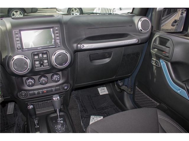 2018 Jeep Wrangler JK Unlimited Sahara (Stk: J863968) in Abbotsford - Image 18 of 22