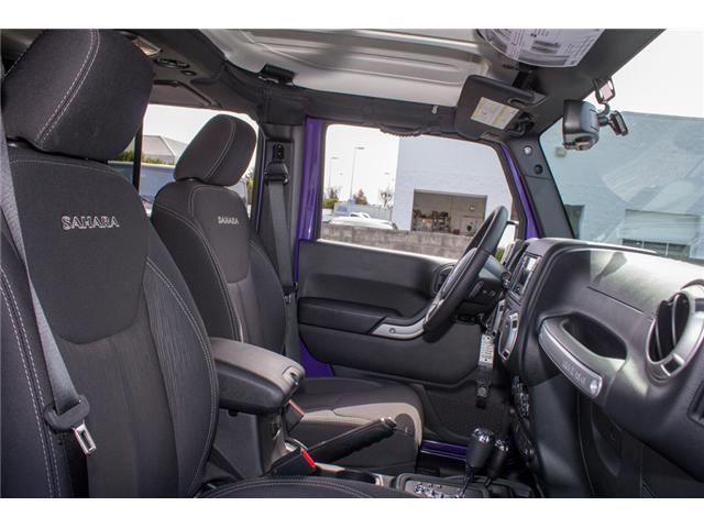 2018 Jeep Wrangler JK Unlimited Sahara (Stk: J863969) in Abbotsford - Image 13 of 25