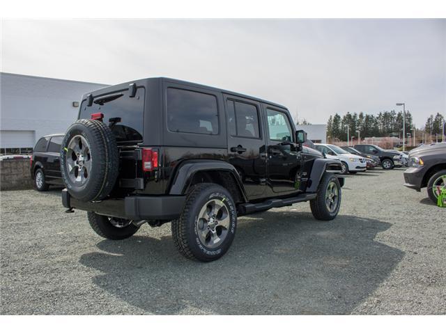 2018 Jeep Wrangler JK Unlimited Sahara (Stk: J863970) in Abbotsford - Image 7 of 22