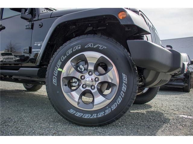 2018 Jeep Wrangler JK Unlimited Sahara (Stk: J863970) in Abbotsford - Image 9 of 22