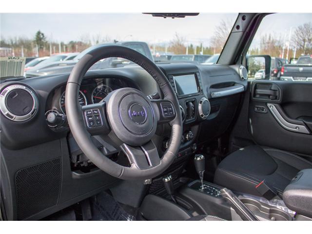 2018 Jeep Wrangler JK Unlimited Sahara (Stk: J863970) in Abbotsford - Image 14 of 22