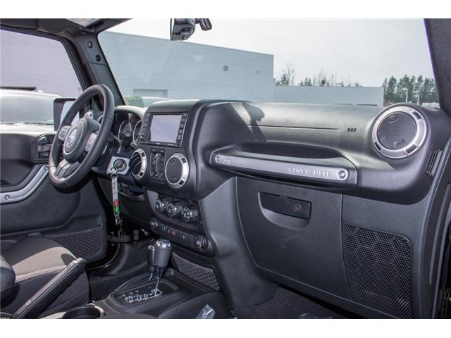 2018 Jeep Wrangler JK Unlimited Sahara (Stk: J863970) in Abbotsford - Image 16 of 22