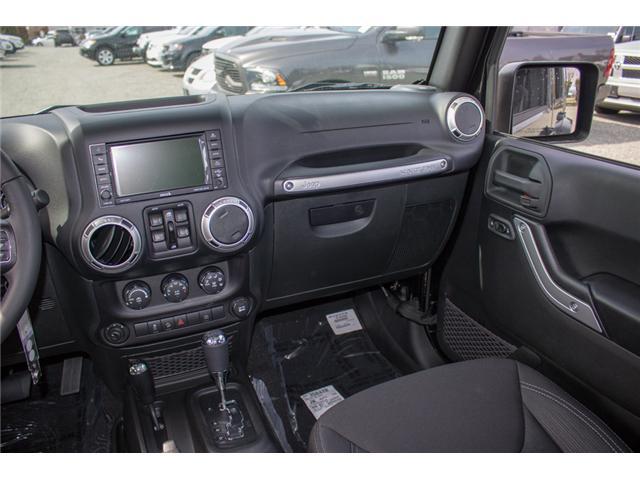 2018 Jeep Wrangler JK Unlimited Sahara (Stk: J863970) in Abbotsford - Image 18 of 22