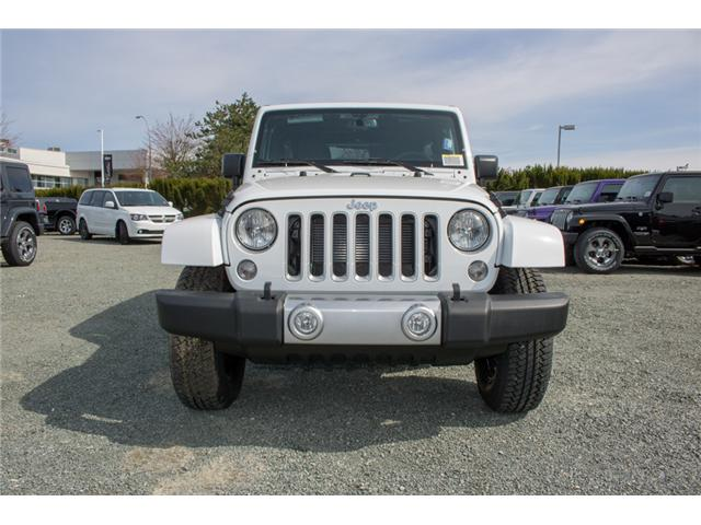 2018 Jeep Wrangler JK Unlimited Sahara (Stk: J863978) in Abbotsford - Image 2 of 18