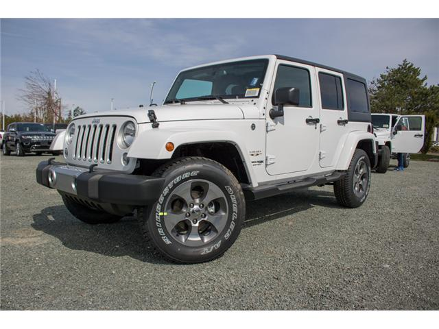 2018 Jeep Wrangler JK Unlimited Sahara (Stk: J863978) in Abbotsford - Image 3 of 18